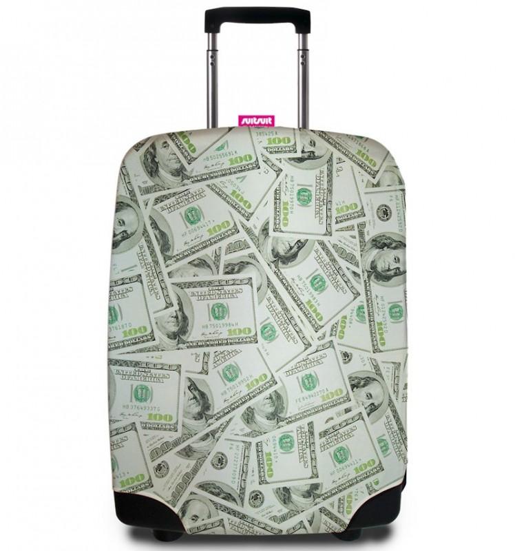 SuitSuit - Obal na kufr - vzor Dollar