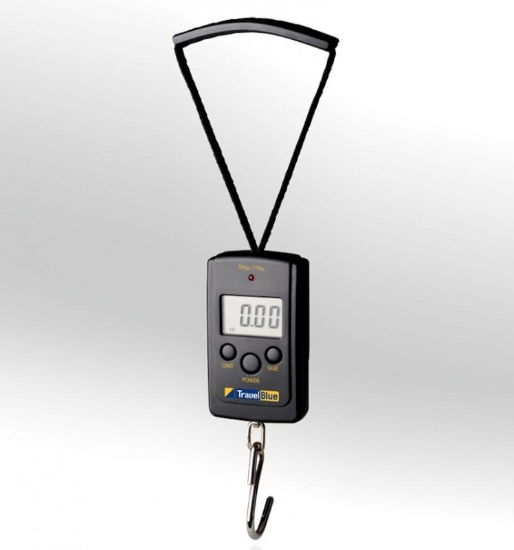 TravelBlue Váha na zavazadla s nosností až 35 kg (Black)