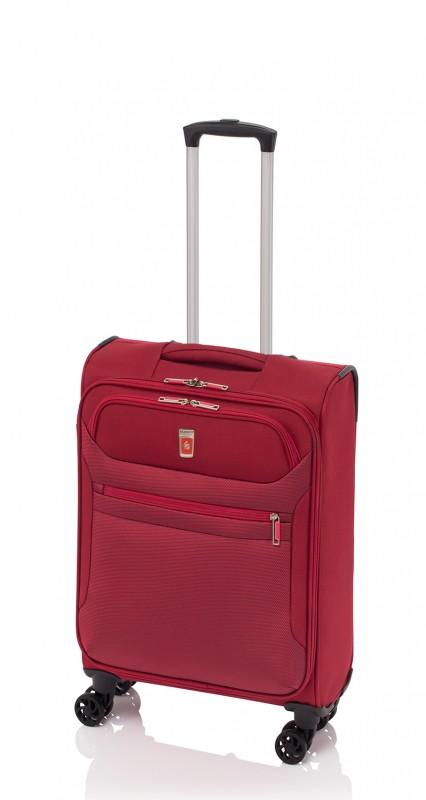Gladiator 3D Pevný kabinový kufr 55cm (Red)