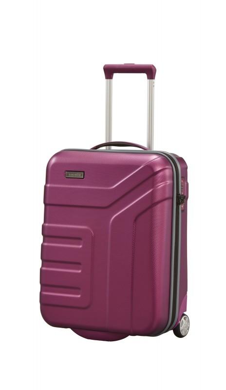 Travelite VECTOR Moderní kufr na dvou kolečkách 55 cm (Plum)