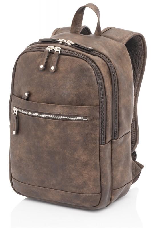 Vogart ALABAMA Prostorný batoh NTB 14, 15 litrů (Brown)