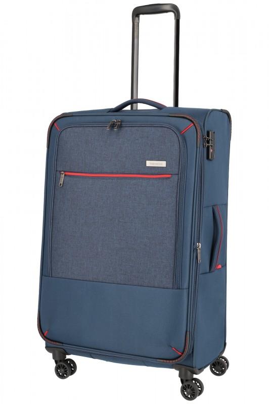 Travelite ARONA Moderní textilní kufr 77cm (Navy)