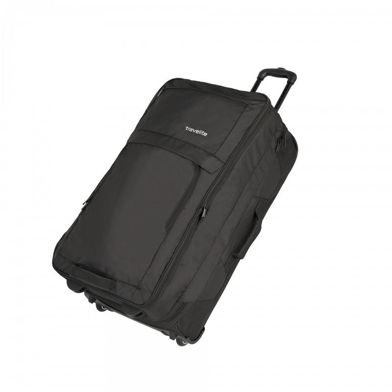 Travelite BASICS Cestovní taška 2 kolečka, 78 cm (Black)