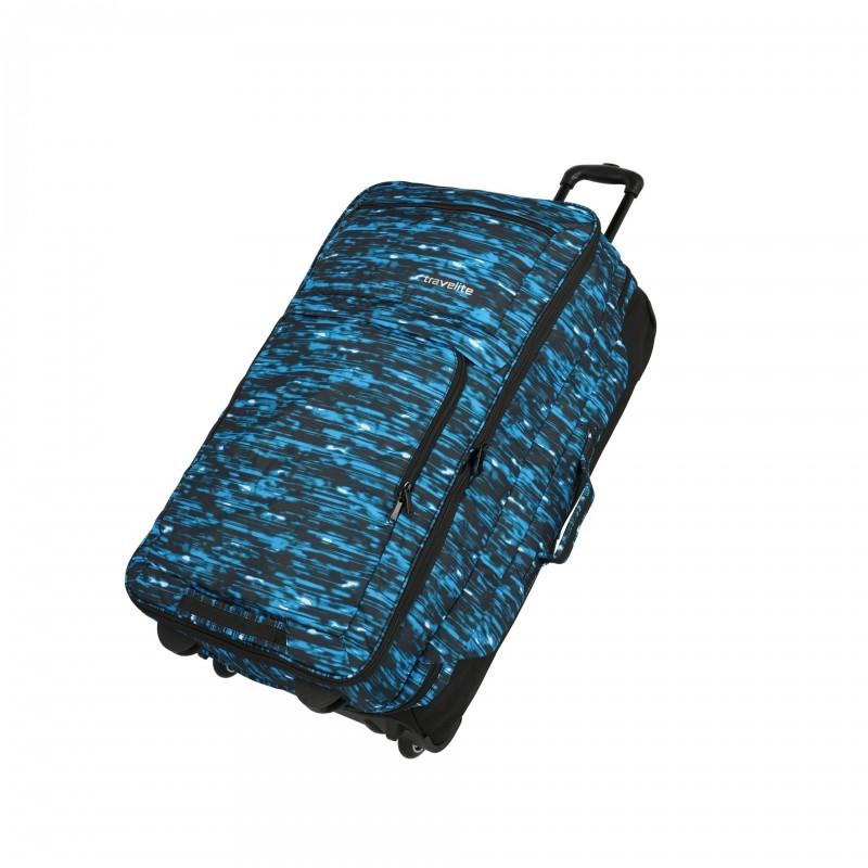 Travelite BASICS Cestovní taška 2 kolečka, 78 cm (Blue print)