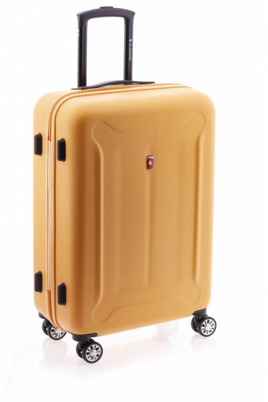 Gladiator BEETLE Skořepinový kufr z ABS 68cm (Orange)