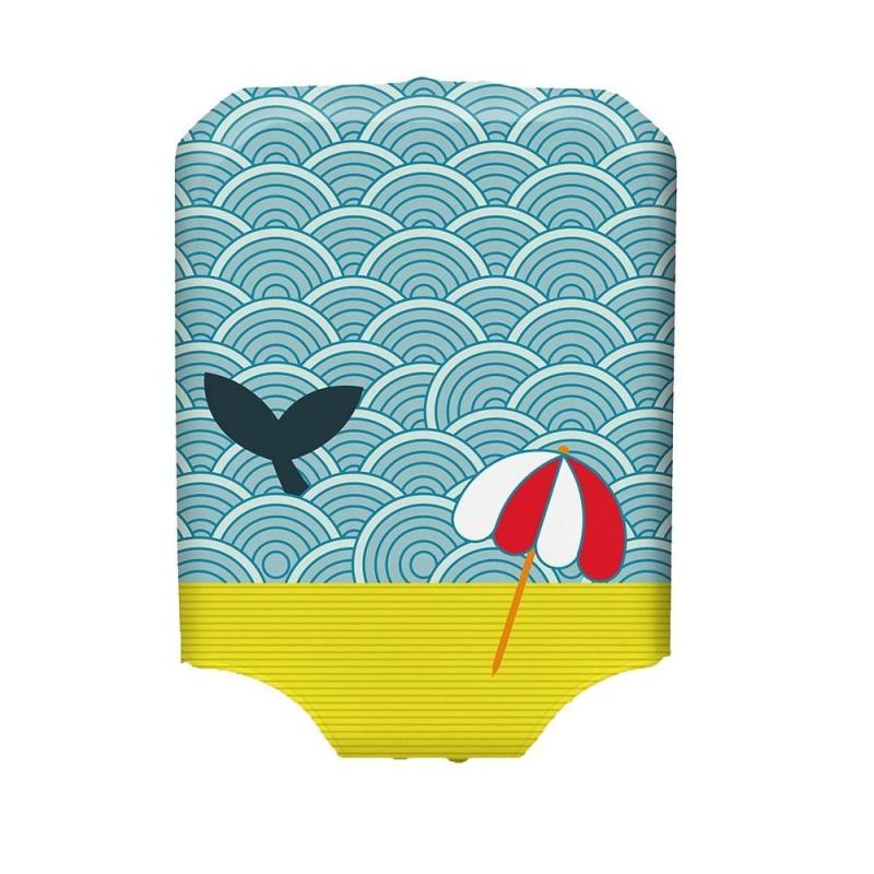BG Berlin HUG COVER Obaly na kufr, vel. M - vzor Light Whale