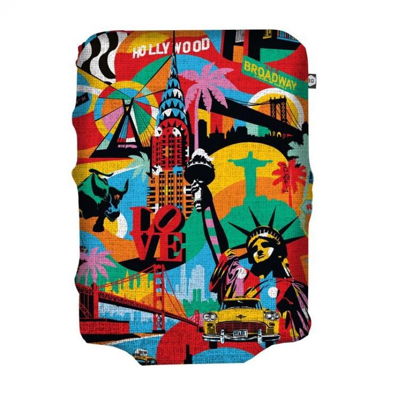 BG Berlin HUG COVER Obaly na kufr, vel. L - America