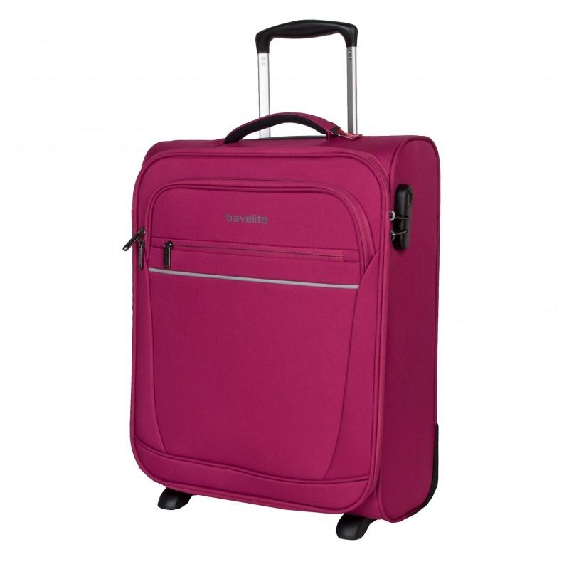 Travelite CABIN Textilní palubní kufr 2w (Berry)