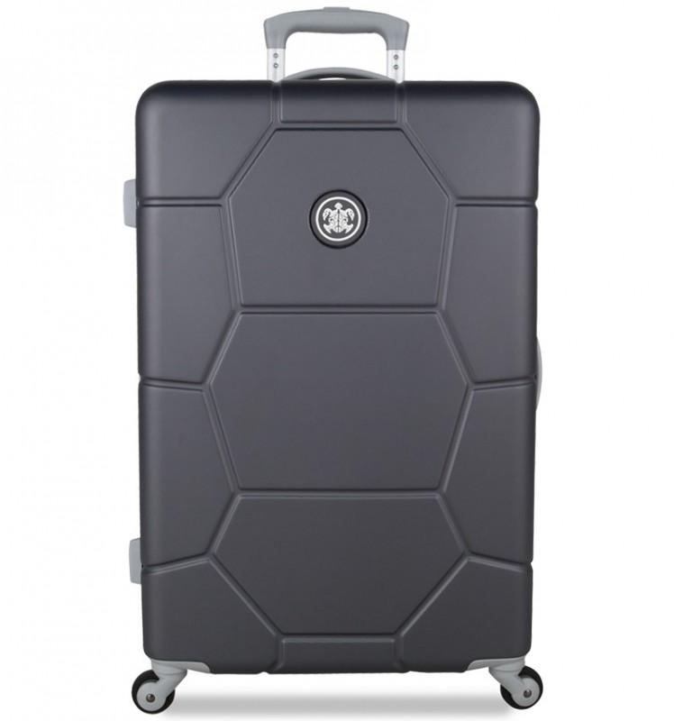 SuitSuit CARETTA Velký cestovní kufr z ABS 75 cm (Cool Grey)