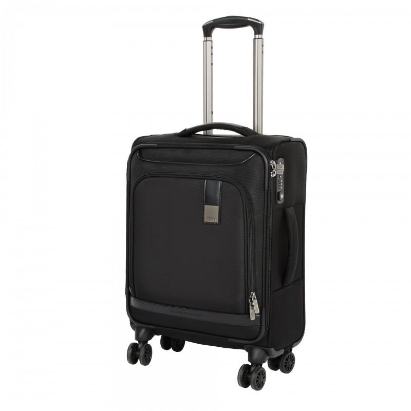 Titan CEO Moderní textilní business kufr 4w 55cm (Black)
