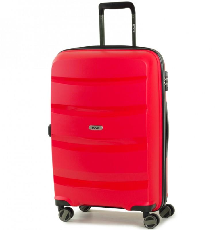 Rock TORRANCE Středně velký kufr 65cm (červený)
