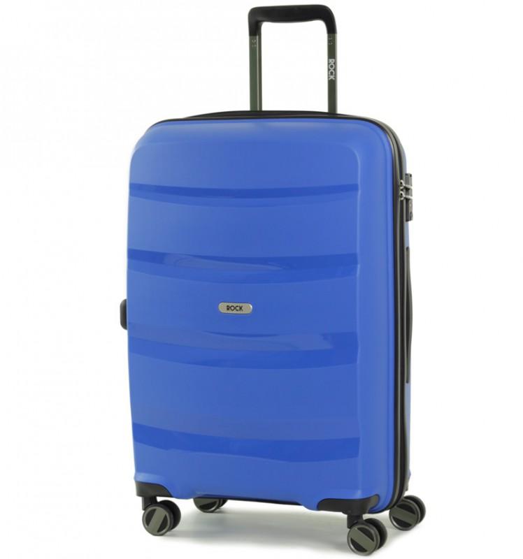 Rock TORRANCE Středně velký kufr 65cm (modrý)