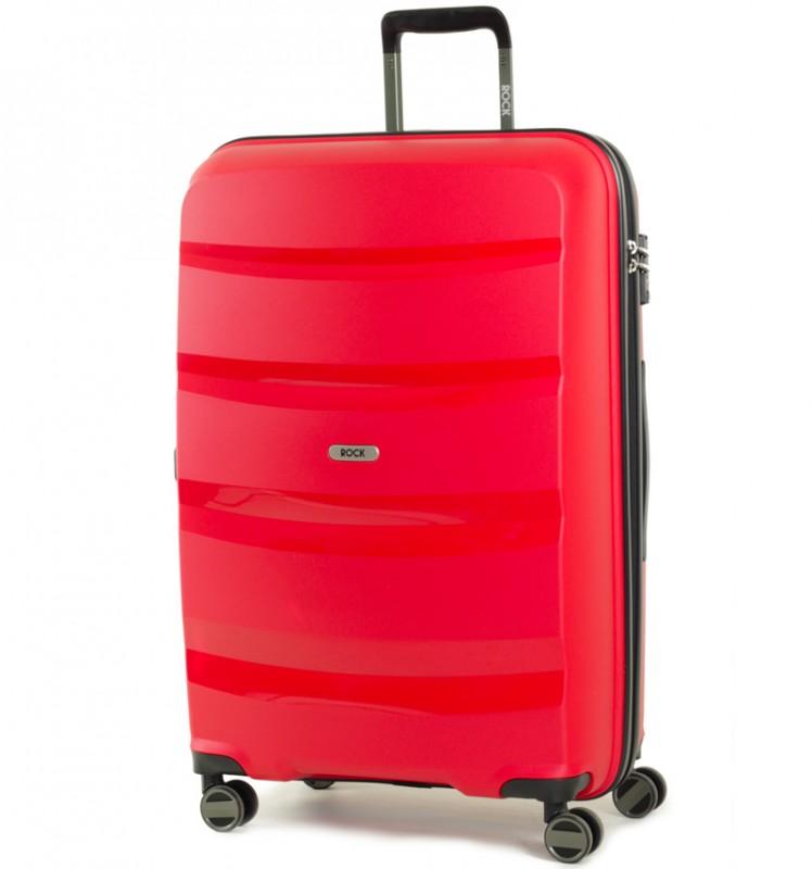 Rock TORRANCE Velký cestovní kufr 75cm (červený)