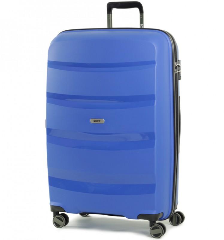 Rock TORRANCE Velký cestovní kufr 75cm (modrý)