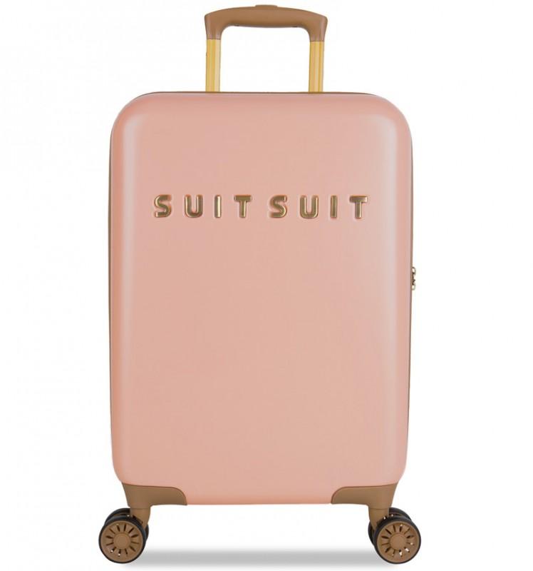 SuitSuit FAB SEVENTIES Kabinové zavazadlo 55 cm - Coral Cloud