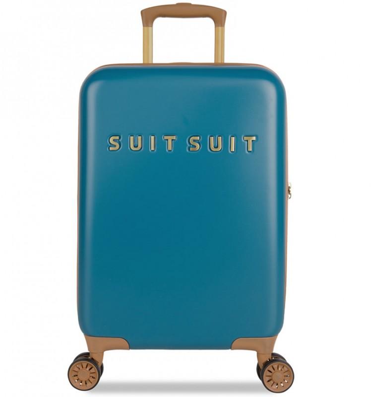 SuitSuit FAB SEVENTIES Kabinové zavazadlo 55 cm - Seaport Blue
