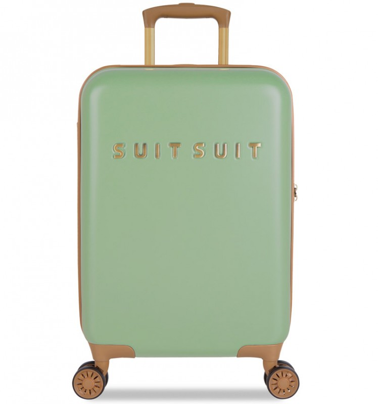 SuitSuit FAB SEVENTIES Kabinové zavazadlo 55 cm - Basil Green