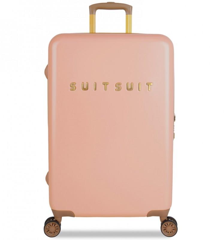 SuitSuit FAB SEVENTIES Velký cestovní kufr 67cm - Coral Cloud
