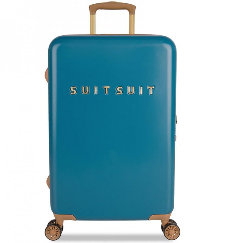 SuitSuit FAB SEVENTIES Velký cestovní kufr 67cm - Seaport Blue