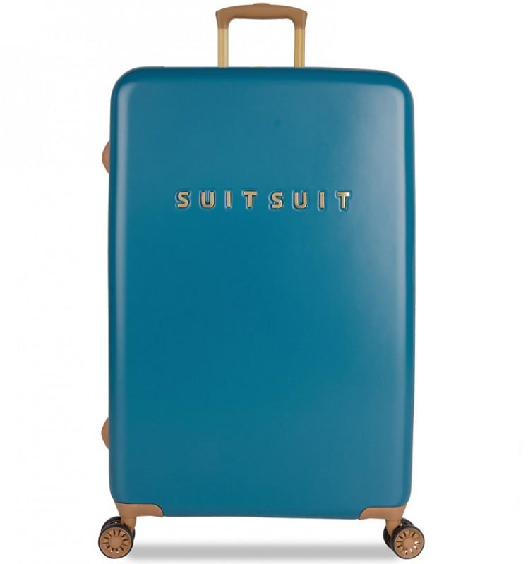 SuitSuit FAB SEVENTIES Velký cestovní kufr 77cm - Seaport Blue