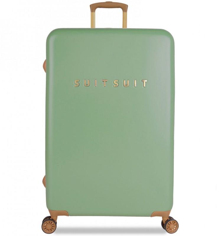 SuitSuit FAB SEVENTIES Velký cestovní kufr 77cm - Basil Green