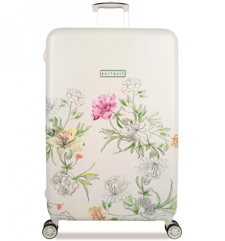 SuitSuit 10th ANNIVERSARY Velký dámský cestovní kufr 77cm - English Garden