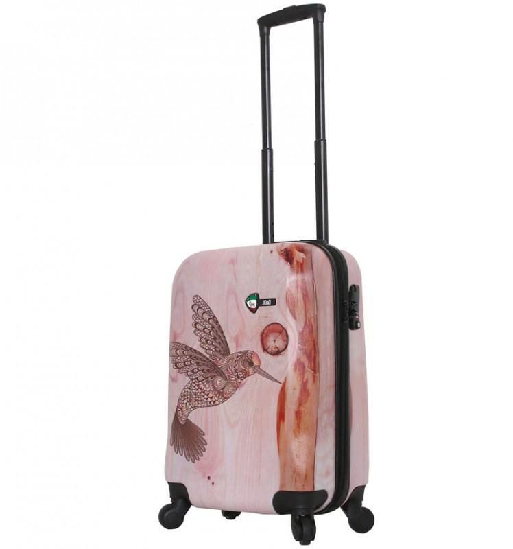 Mia Toro WOOD Kabinové zavazadlo 55 cm - Hummingbird