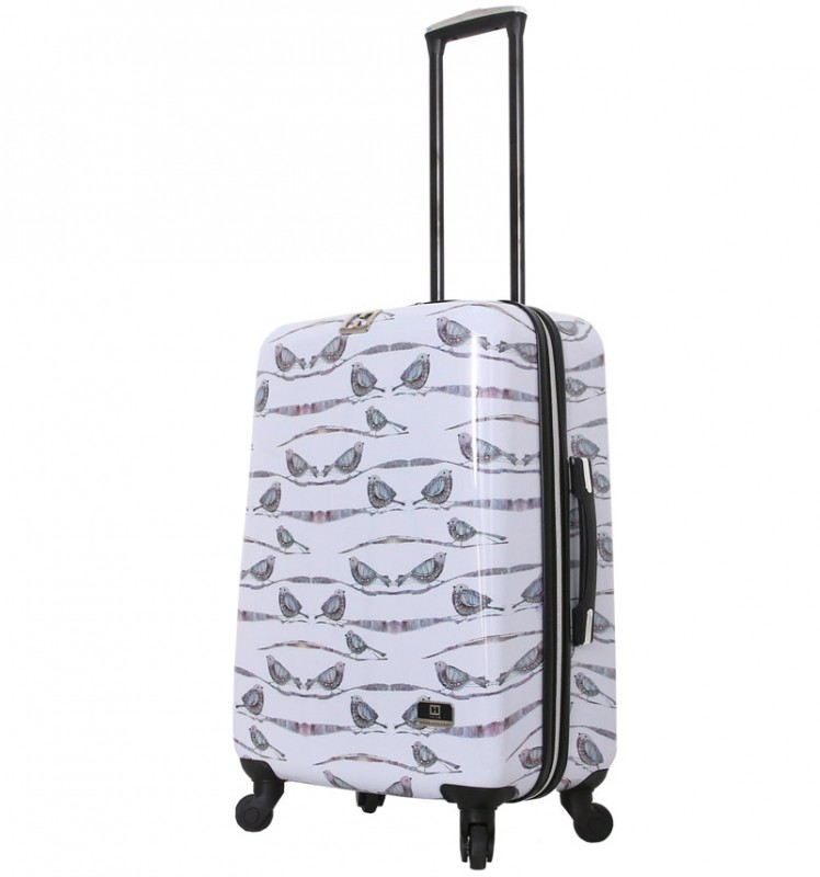 Mia Toro HALINA Designový kabinový kufr 66 cm