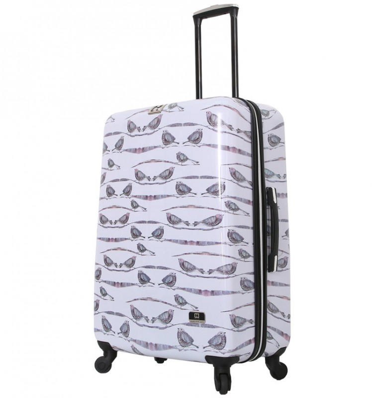 Mia Toro HALINA Designový cestovní kufr 76 cm