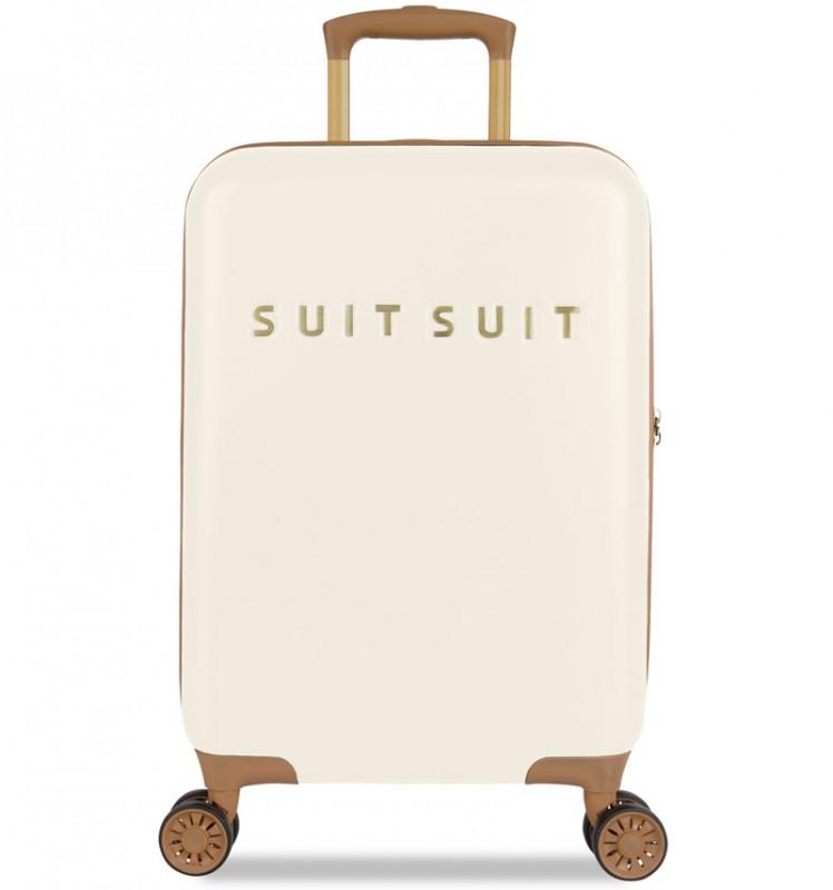 SuitSuit FAB SEVENTIES Kabinové zavazadlo 55 cm - Antique White