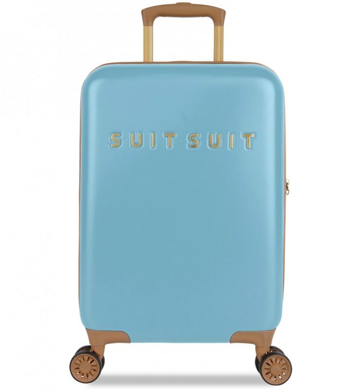 SuitSuit FAB SEVENTIES Kabinové zavazadlo 55 cm - Reef Water Blue
