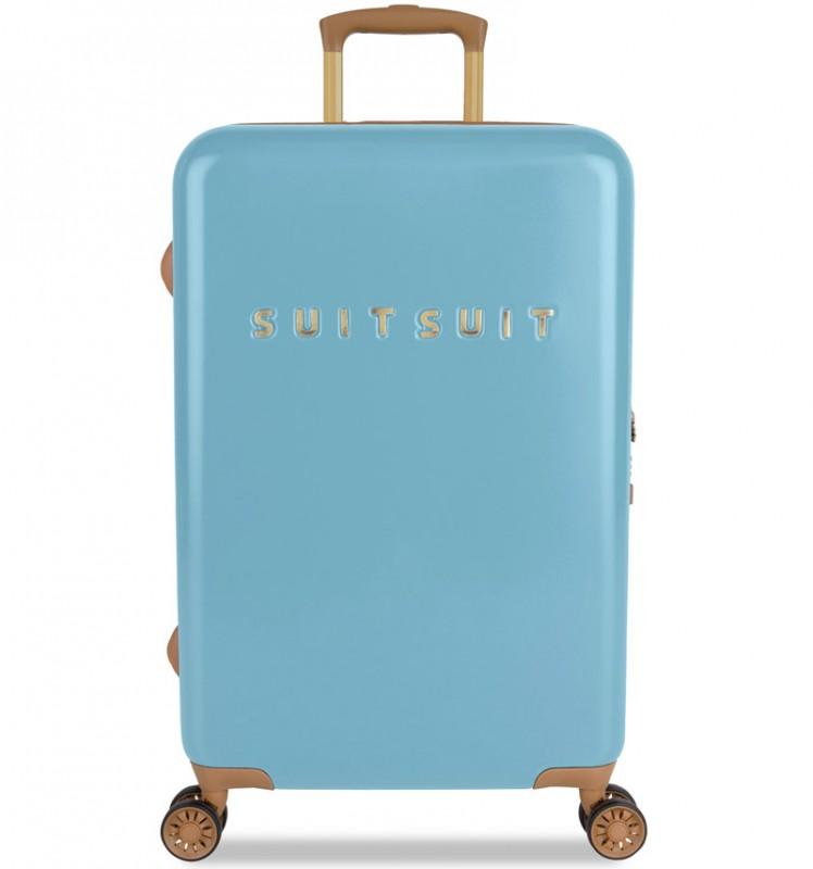 SuitSuit FAB SEVENTIES Velký cestovní kufr 67cm - Reef Water Blue