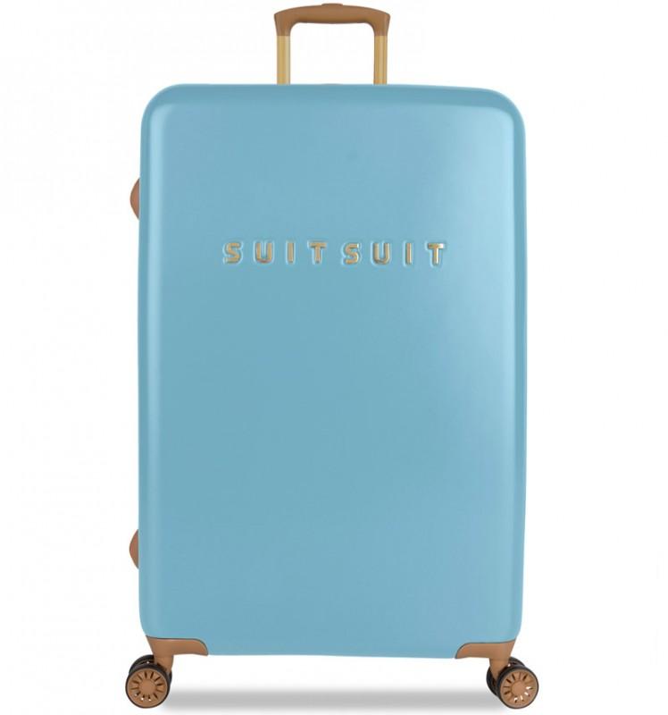 SuitSuit FAB SEVENTIES Velký cestovní kufr 77cm - Reef Water Blue