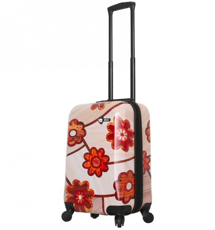 Mia Toro WOOD Kabinové zavazadlo 55 cm - Ricci