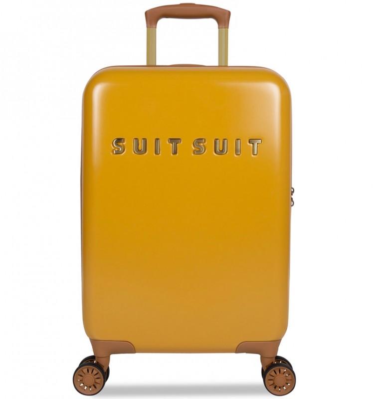 SuitSuit FAB SEVENTIES Kabinové zavazadlo 55 cm - Lemon Curry