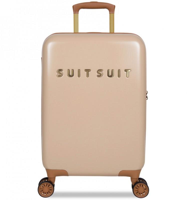SuitSuit FAB SEVENTIES Kabinové zavazadlo 55 cm - Warm Sand