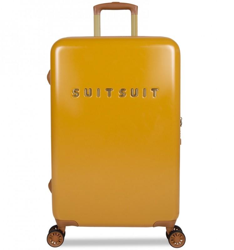 SuitSuit FAB SEVENTIES Velký cestovní kufr 67cm - Lemon Curry