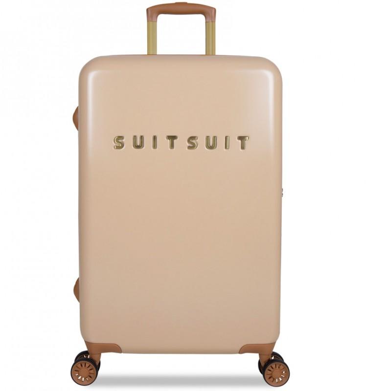 SuitSuit FAB SEVENTIES Velký cestovní kufr 67cm - Warm Sand