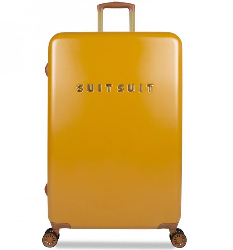 SuitSuit FAB SEVENTIES Velký cestovní kufr 77cm - Lemon Curry