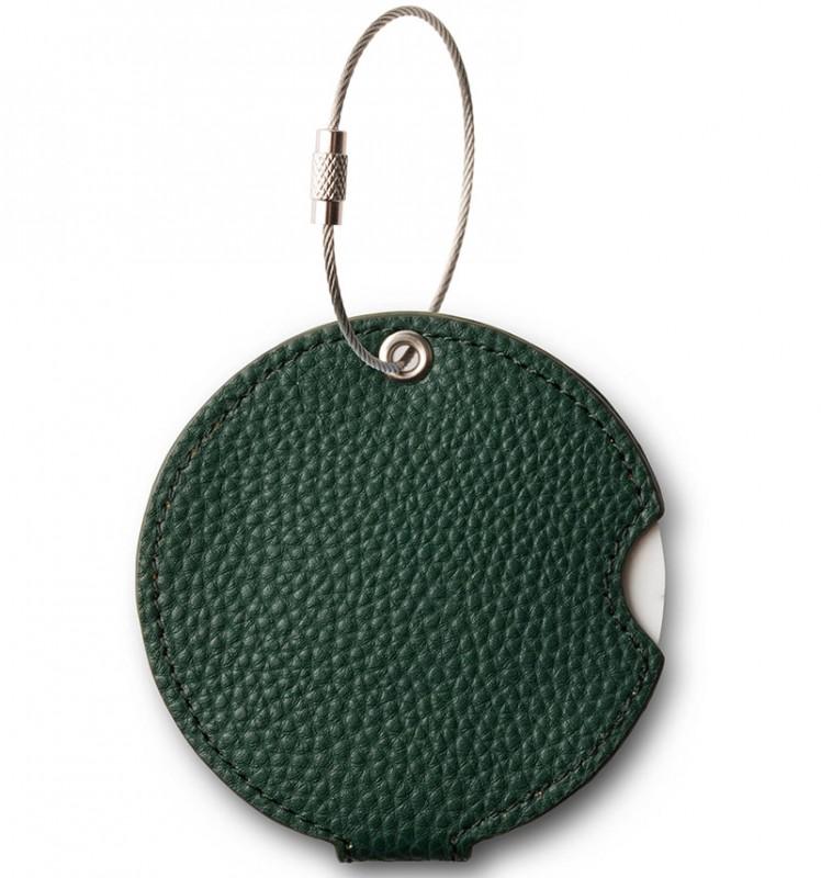 Addatag - Jmenovka PU na kufr - vzor Forest green