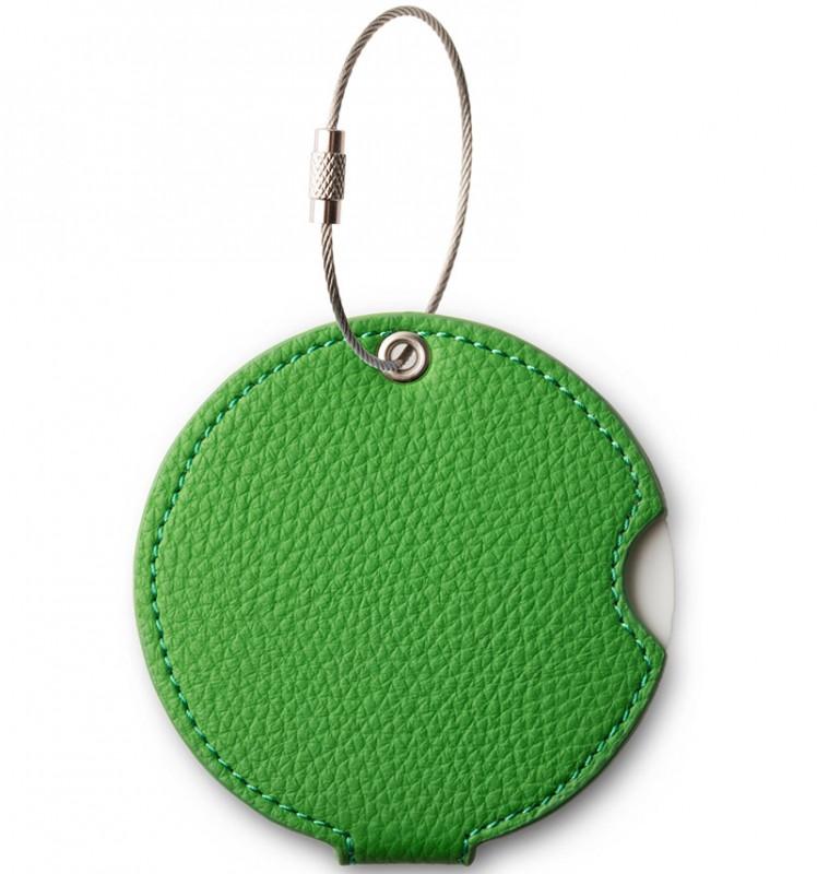 Addatag - Jmenovka PU na kufr - vzor Basil green