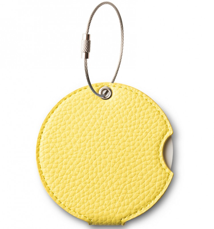 Addatag - Jmenovka PU na kufr - vzor Gentle yellow