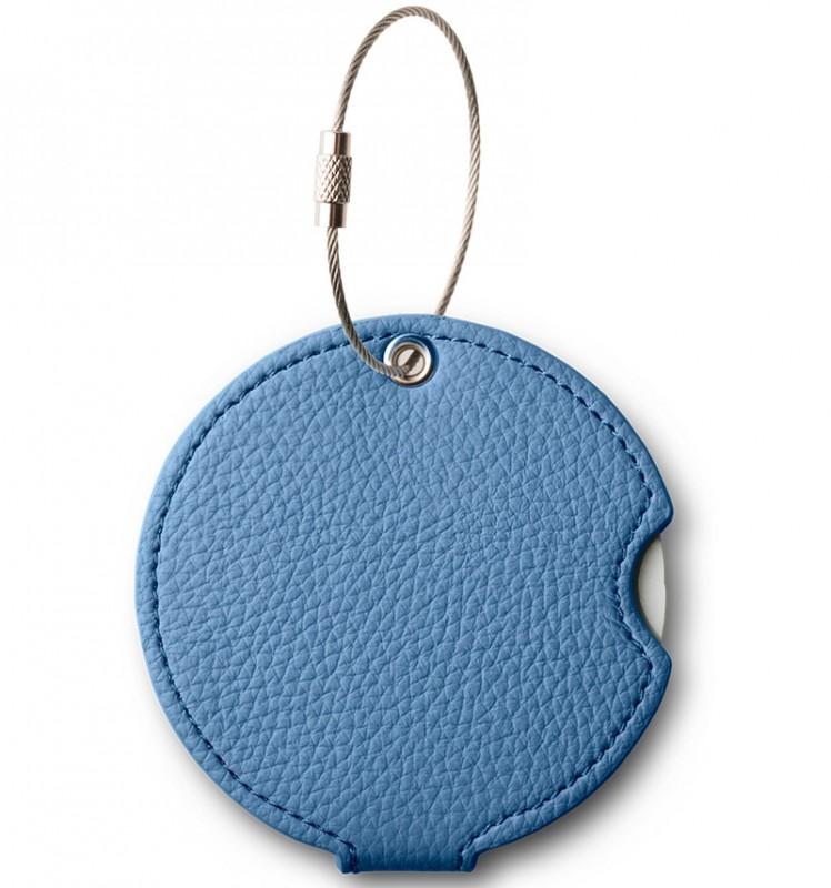 Addatag - Jmenovka PU na kufr - vzor Steel blue