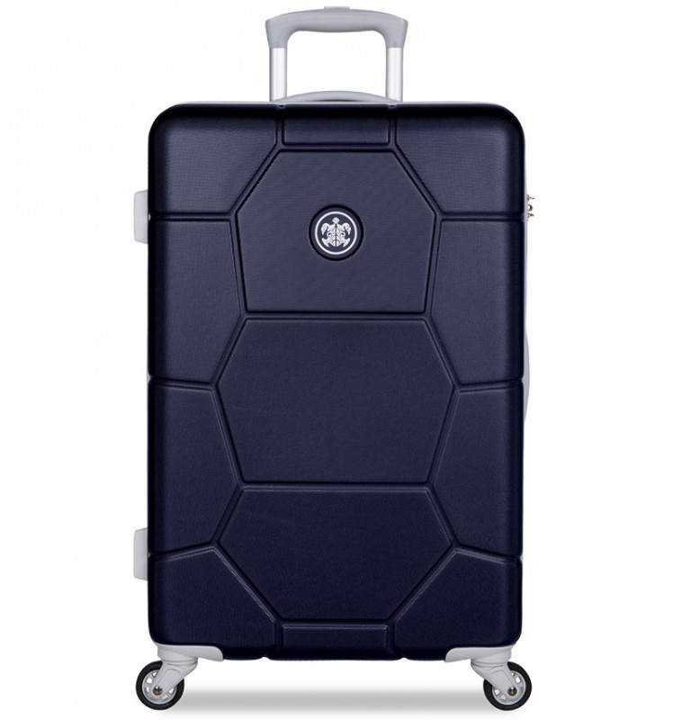 SuitSuit CARETTA Cestovní kufr z ABS 65 cm - Midnight Blue