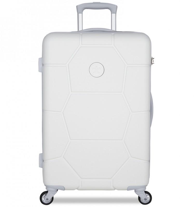 SuitSuit CARETTA Cestovní kufr z ABS 65 cm - Whisper White