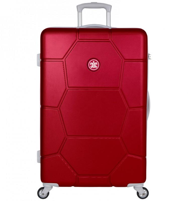 SuitSuit CARETTA Velký cestovní kufr z ABS 75 cm - Cherry