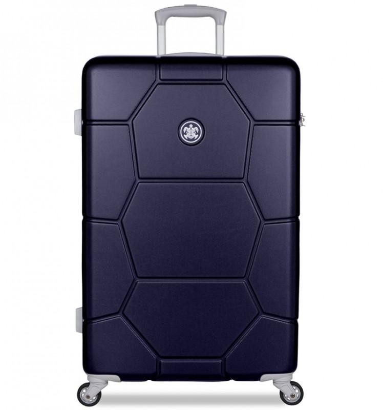 SuitSuit CARETTA Velký cestovní kufr z ABS 75 cm - Midnight Blue