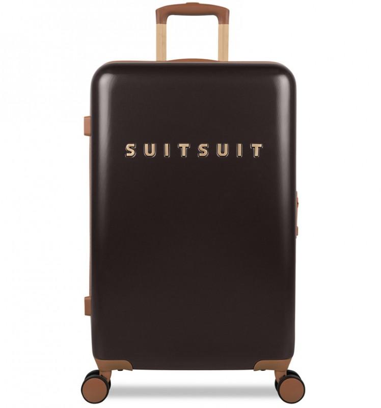 SuitSuit FAB SEVENTIES Velký cestovní kufr 67cm - Espresso Black