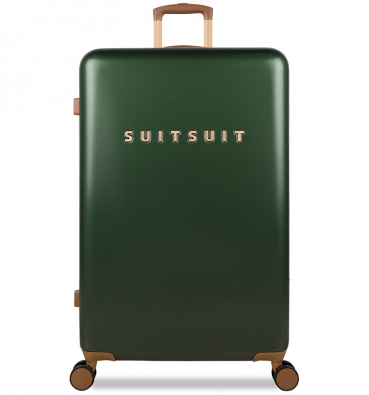 SuitSuit FAB SEVENTIES Velký cestovní kufr 77cm - Beetle Green