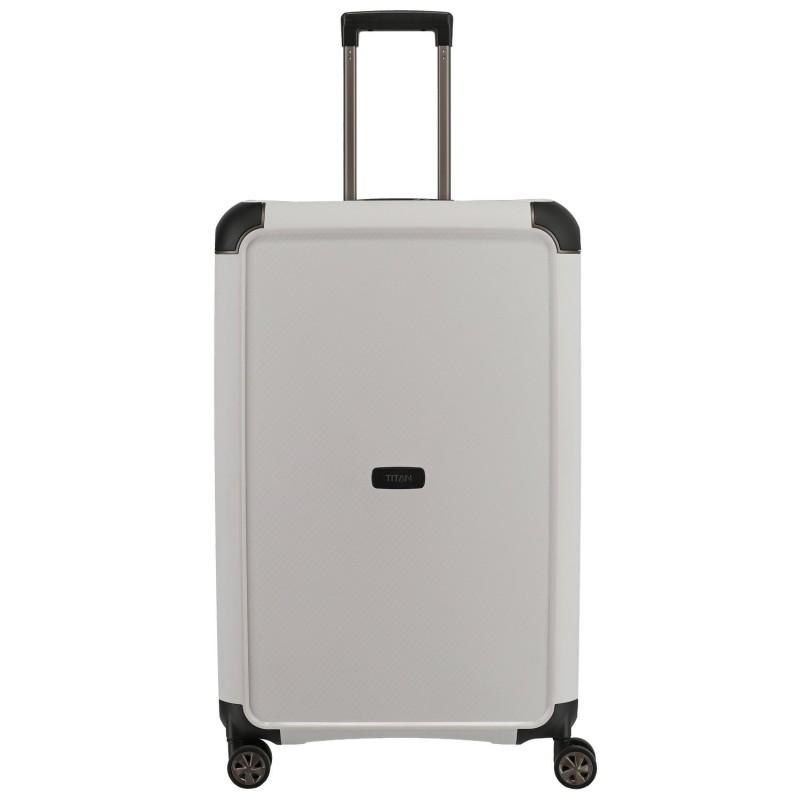 Titan COMPAX Velký skořepinový kufr 77cm (White)